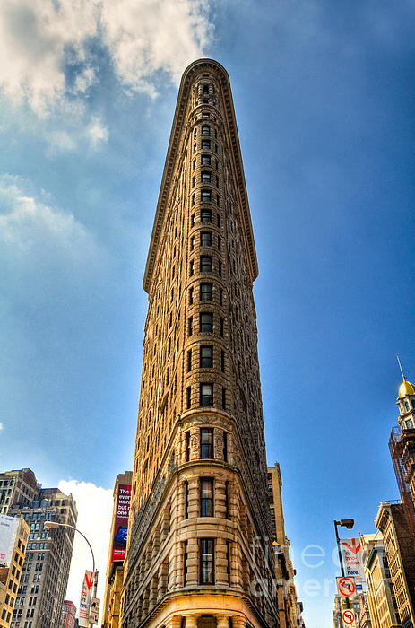 Flatiron Building Print by Kelly Wade
