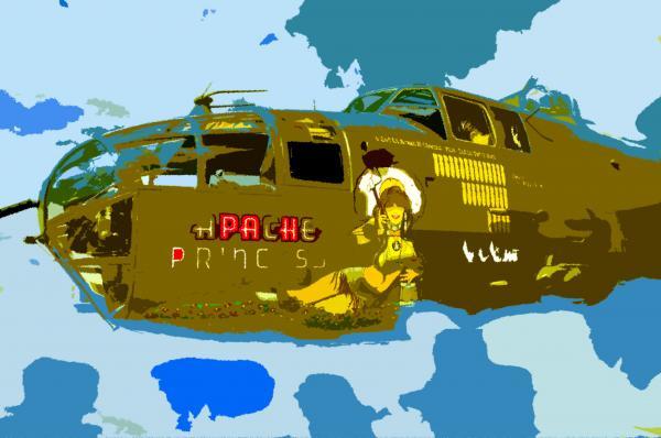 Flight Of The Apache Princess Print by David Lee Thompson