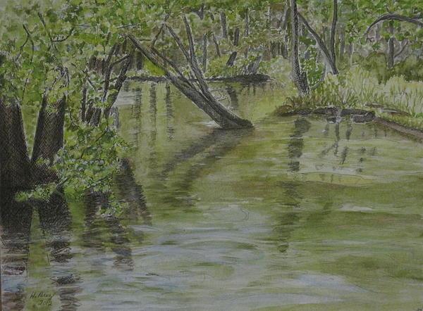 Flood Print by Heather Perez