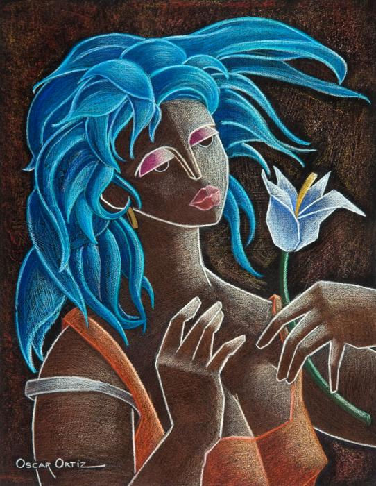 Flor Y Viento Painting  - Flor Y Viento Fine Art Print