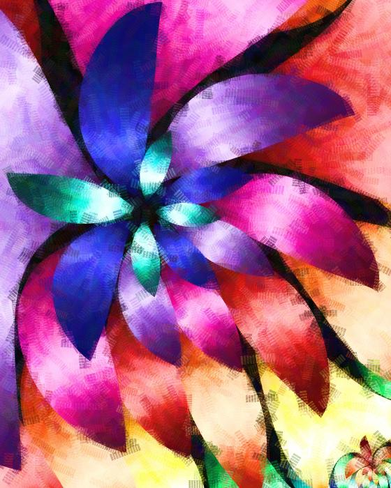 Floral Arrangement Digital Art