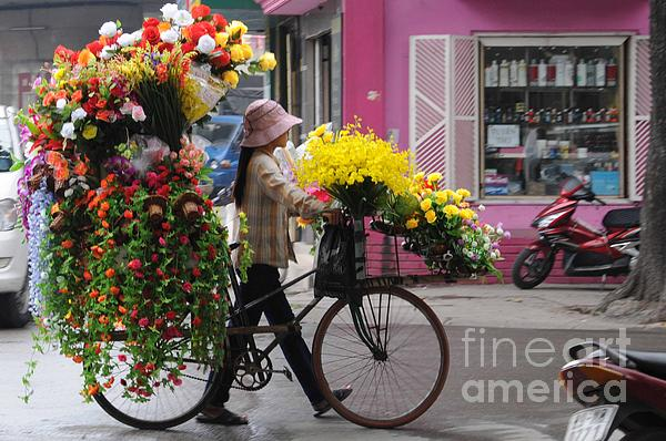 Floral Ride Print by Marion Galt