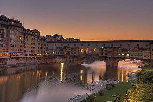 Florence - Ponte Vecchio Print by Joana Kruse