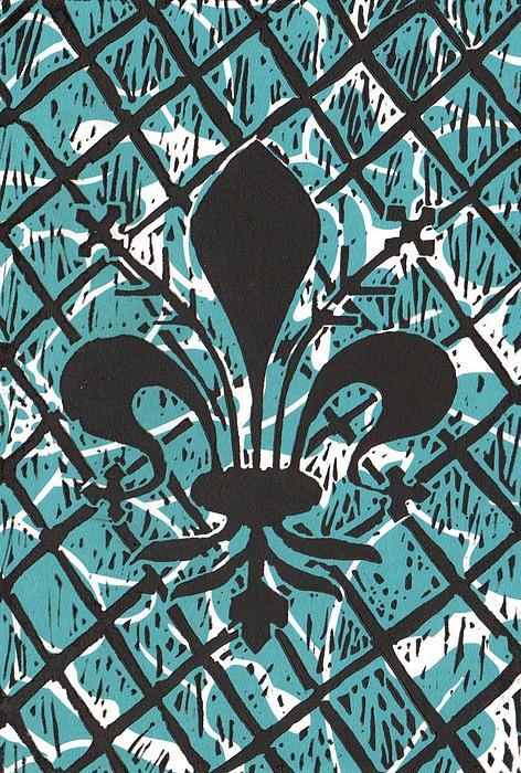 Florentine Fleur Ginger T Print by Julia Forsyth