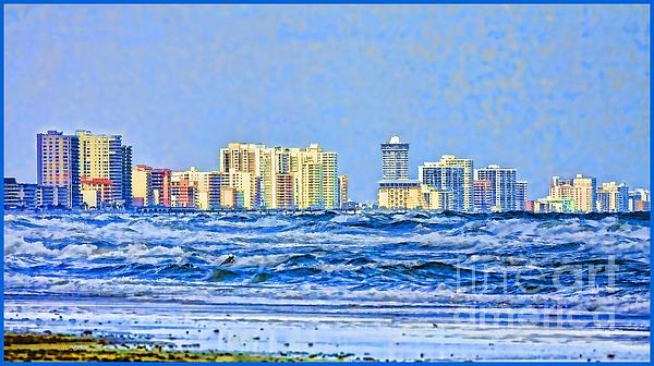 Florida Turbulence Print by Deborah Benoit