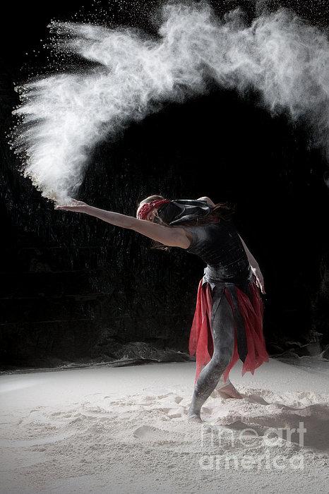Flour Dancing Series Print by Cindy Singleton