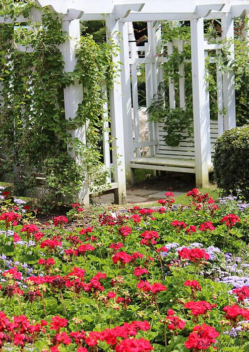 Debra     Vatalaro - Flower Garden Seat