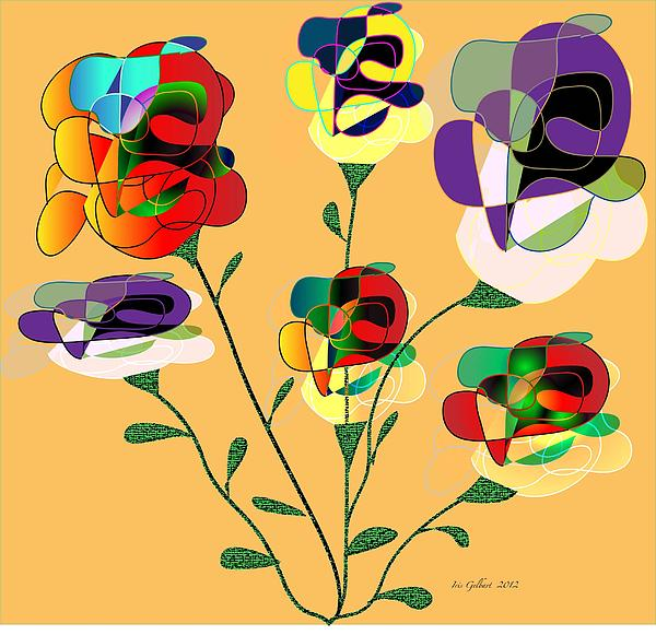 Iris Gelbart - Flower Harvest