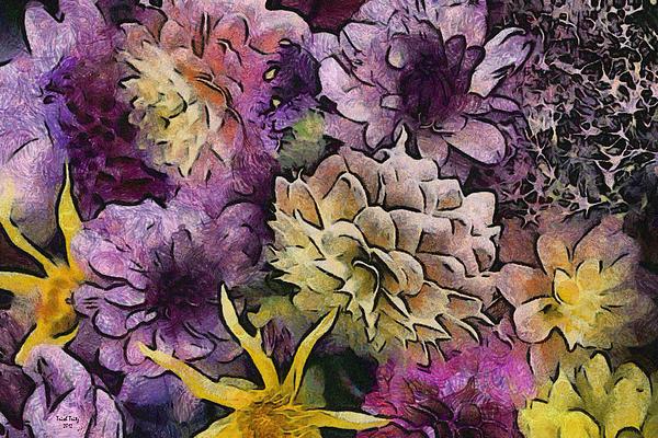 Flower Power Print by Trish Tritz