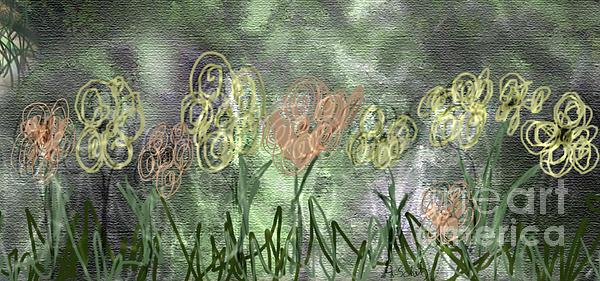 Gabrielle Schertz - Flower Sketch for Stu