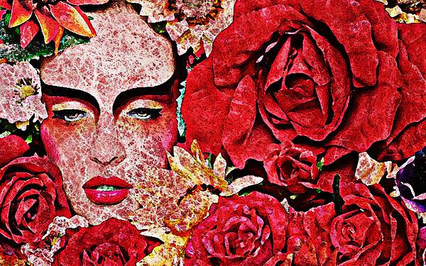 Yosi Cupano - Flowers Face