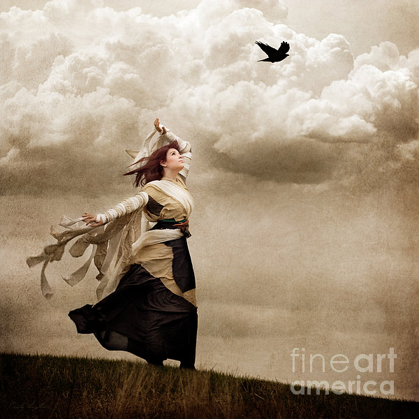 Flying Dreams Print by Cindy Singleton