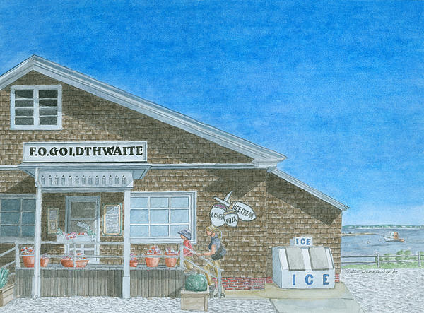 F.o. Goldthwaite Print by Dominic White
