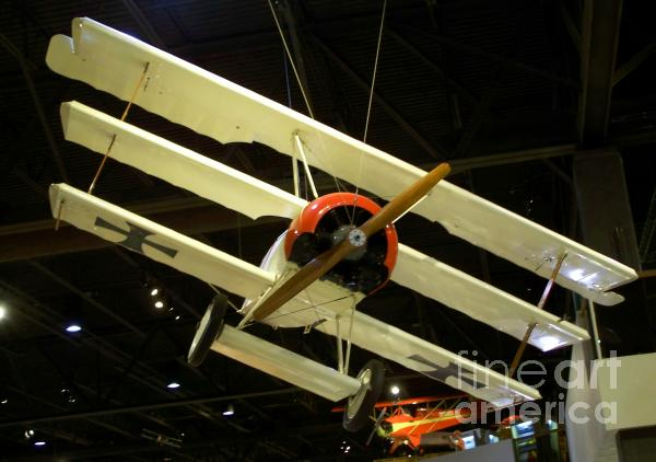 Focker Tri-plane Print by Tommy Anderson