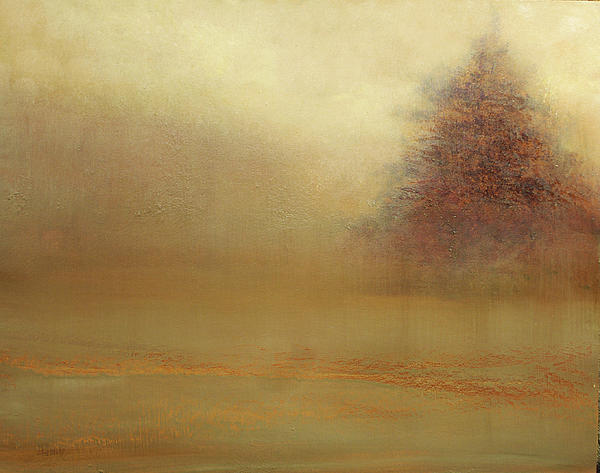 Fog Lifting Painting