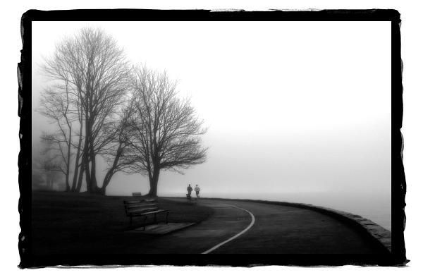 Foggy Day H-2 Print by Mauro Celotti