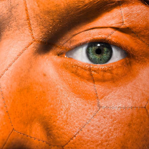 Football Scars Print by Semmick Photo