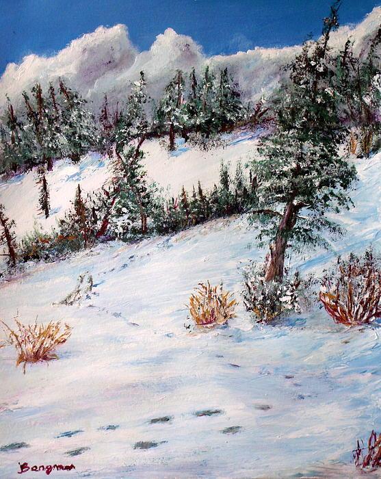 Marie Bergman - Footprints On The Ridge