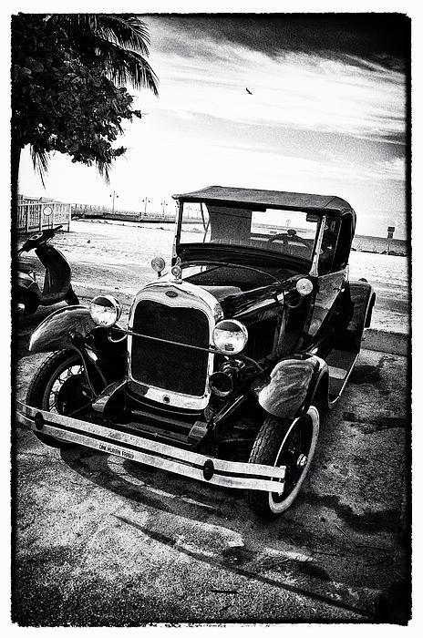 Ford Model T Film Noir Print by Bill Cannon