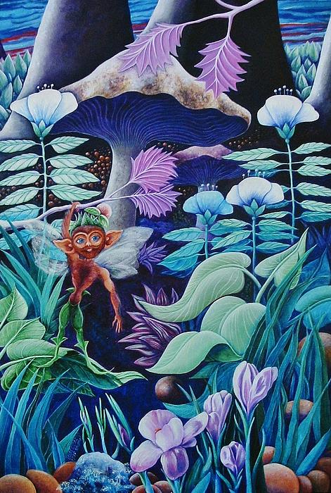 Forest Fantasy-sold Painting  - Forest Fantasy-sold Fine Art Print