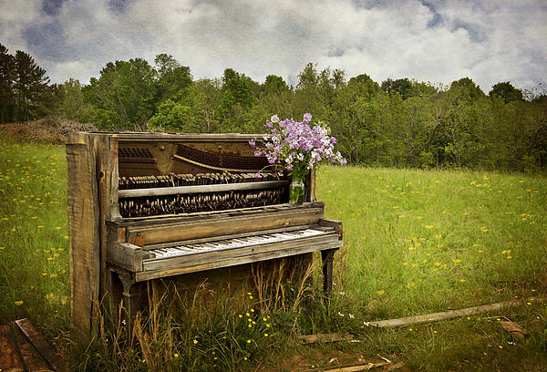 Forgotten Tunes Print by Kathy Jennings