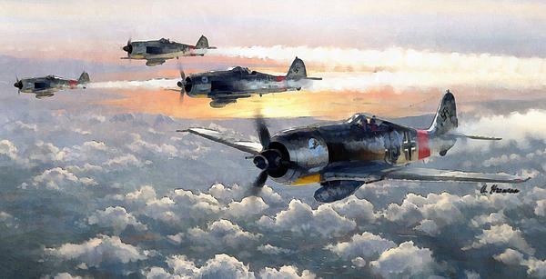 A Hermann - Formation Flight Fw 190
