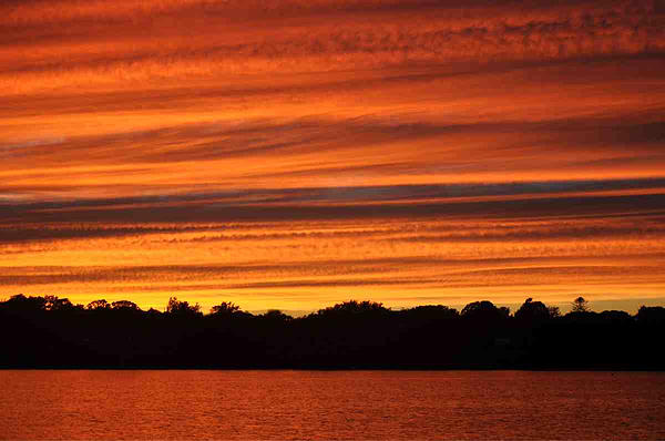 Cynthia McFadden - Fort Pond Sunset