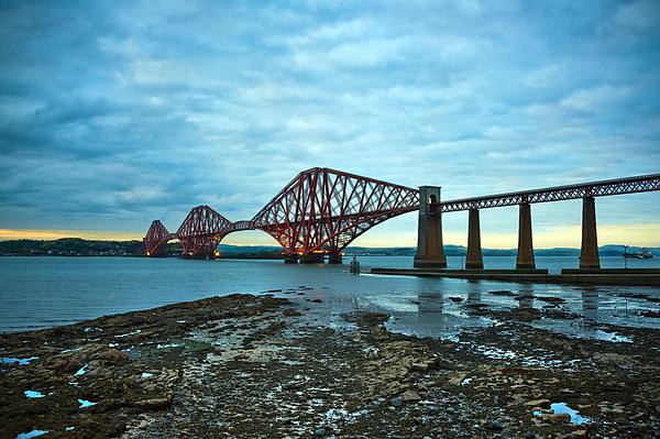 Forth Rail Bridge Print by Svetlana Sewell