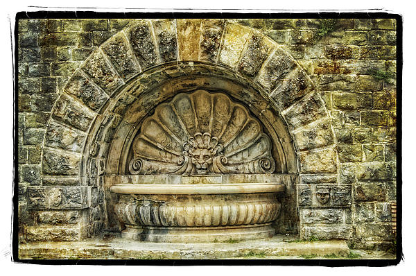 Fountain Print by Mauro Celotti