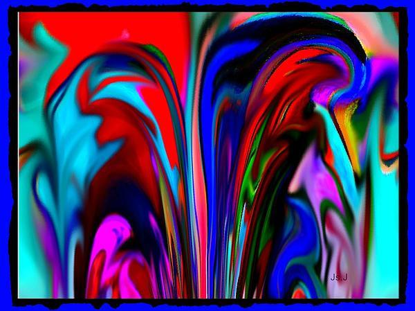 Jan Steadman-Jackson - Fountain of Vibrancy