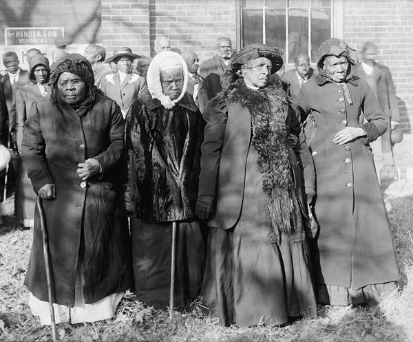 Four Elderly African American Women Print by Everett