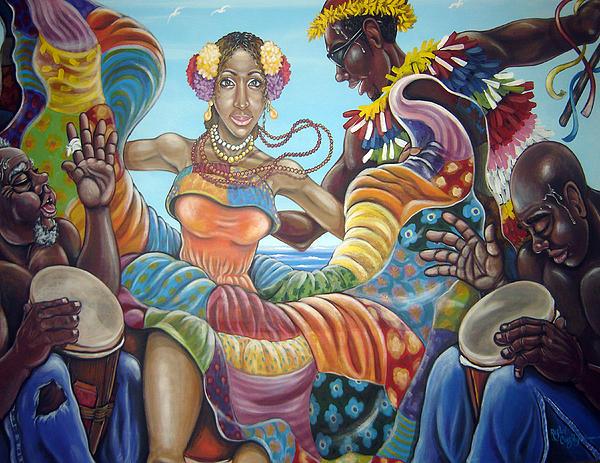 Rafael Cruzpagan - Four spirits of Congo Dance
