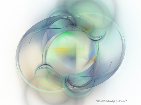 Michael C Geraghty - Fractal Abstract V12 - Elegance v5