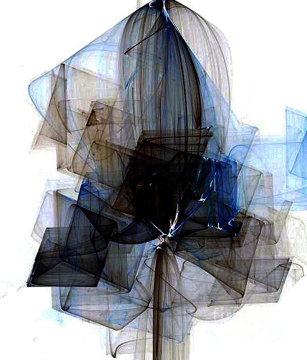 Vicki Lynn Sodora - Fragile Blue Dahlia