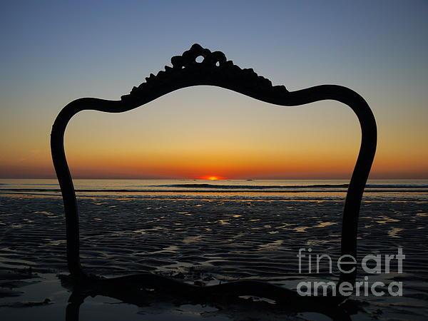 Framed Sunrise Print by Nancie DeMellia