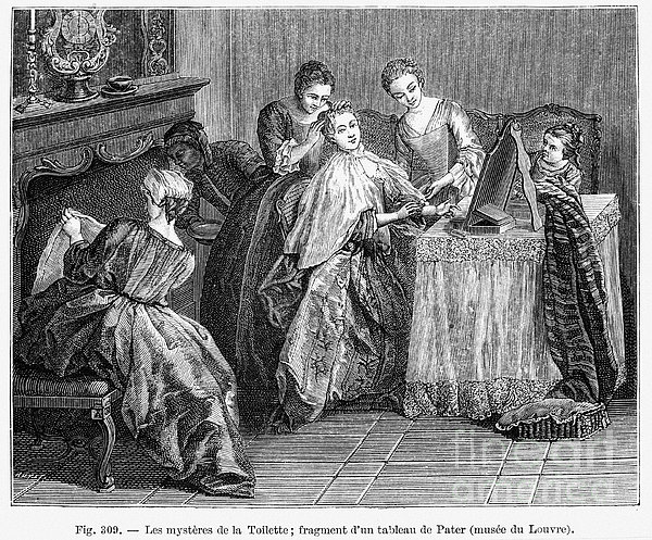 France: Daily Life Print by Granger
