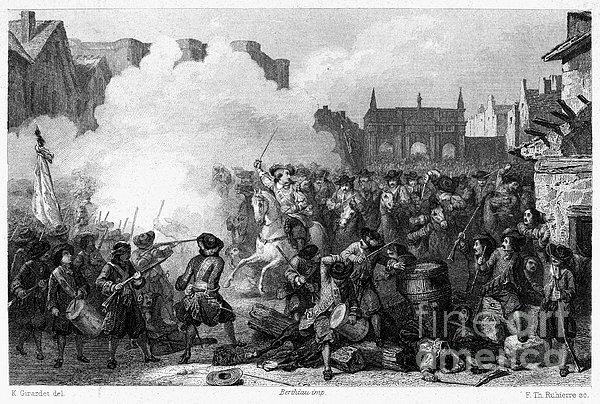 France: Fronde Battle, 1652 Print by Granger