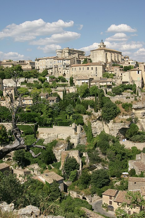 France, Provence, Village Of Gordes Print by Jimmy Legrand