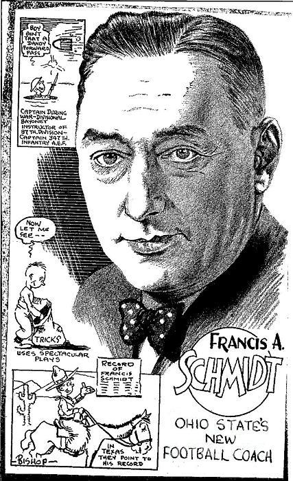 Francis A. Schmidt Print by Steve Bishop