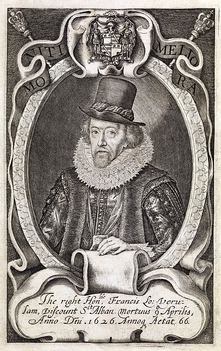 Francis Bacon, English Philosopher Print by Middle Temple Library