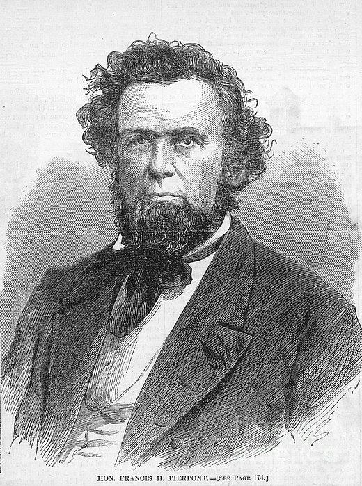 Francis H. Pierpont (1814-1899) Print by Granger