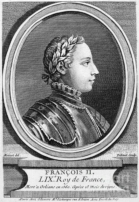 Francis II (1544-1560) Print by Granger