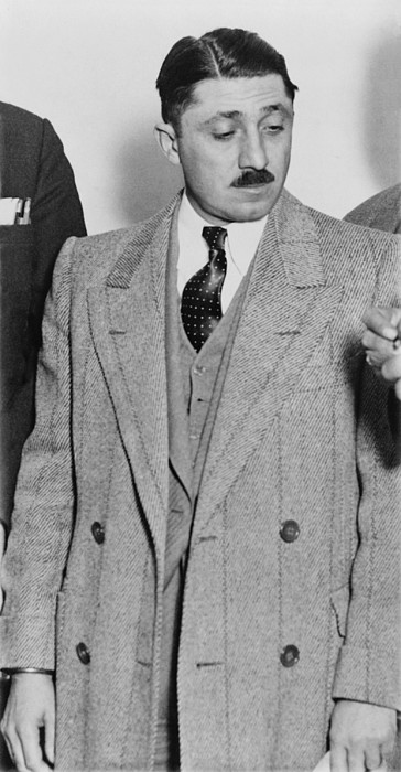 Frank Nitti 1881-1943 Chicago Gangster Print by Everett