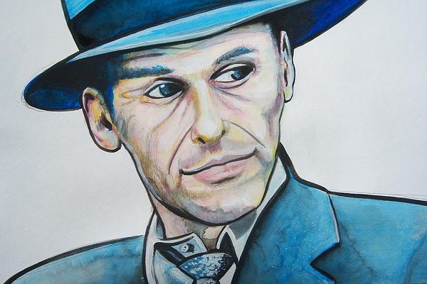 Frank Sinatra Print by Ken Huber