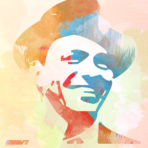 Frank Sinatra Print by Naxart Studio