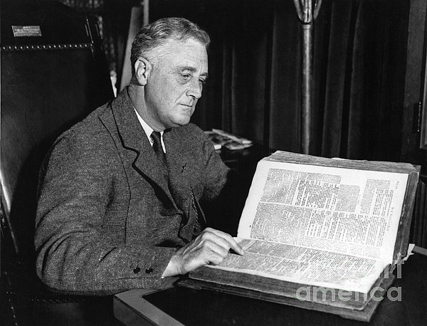 Franklin D. Roosevelt, 32nd American Print by Photo Researchers