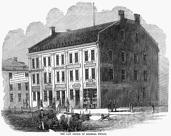 Franklin Pierce Print by Granger