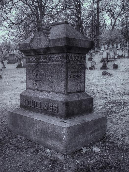 Frederick Douglass Grave One Print by Joshua House