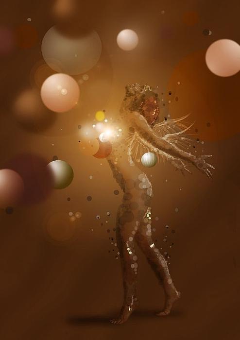 Free Blur Print by Trish Gaines