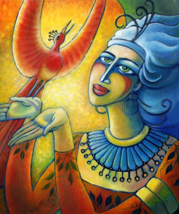 Freedom In Broad Daylight Print by Angela Treat Lyon